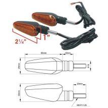 DRC Hardware DRC Moto LED Flasher Type 602 - Orange (D45-60-207)
