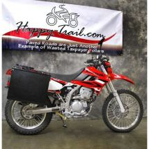 Happy Trails Products Aluminum Pannier Kit TETON  Kawasaki KLX250S 2009+