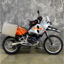 Happy Trails Products Aluminum Pannier Kit TETON - KTM 640 Adventure R 2000+