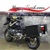 Happy Trails Products Aluminum Pannier Kit (Low-Pipe) TETON for BMW R1150GS/GSA