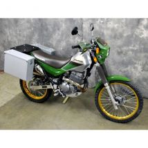 Happy Trails Products Aluminum Pannier Kit OWYHEE Kawasaki Super Sherpa