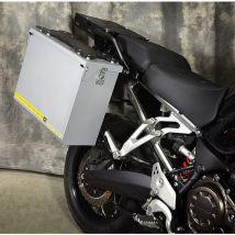 Happy Trails Products Aluminum Pannier Kit TETON Yamaha Super Tenere
