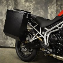Happy Trails Products Aluminum Pannier Kit DENALI TriumphTiger 800-800XC