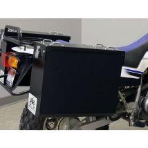 Happy Trails Products Aluminum Pannier Kit TETON  Yamaha TW200