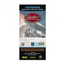 Butler Colorado Backcountry Discovery Route MAP
