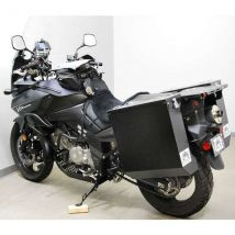 Happy Trails Products Aluminum Pannier Kit DENALI - Suzuki V-Strom 650