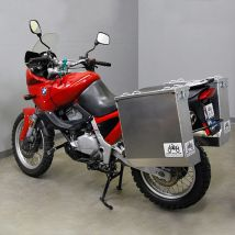 Happy Trails Products Aluminum Pannier Kit DENALI  BMW F650 Funduro