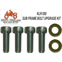 Happy Trails Products Subframe Bolt Upgrade Kit Kawasaki KLR650 All Years