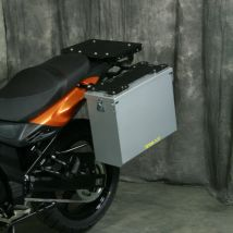Happy Trails Products Aluminum Pannier Kit TETON Suzuki V-Strom 650