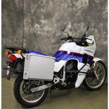 Happy Trails Products Aluminum Pannier Kit OWYHEE Honda Transalp XL600V