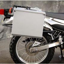 Happy Trails Products Aluminum Pannier Kit OWYHEE Yamaha XT250