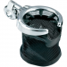 "Kuryakyn Chrome Universal Drink Holder with Basket and Clamp for 1-1/4"" Handlebars"