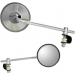 Parts Unlimited Universal Long Mirror
