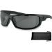 Bobster AXL Sunglasses - Gloss Black - Smoke