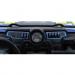 Moose Racing Dash Plate - Left - Blue - RZR