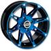 Moose Racing Wheel - 387BU - 12X8 - 4/136 - 4+4