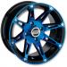 Moose Racing Wheel - 387BU - 14X8 - 4/110 - 4+4