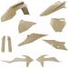 Acerbis Full Replacement Plastic Kit - Desert Eagle
