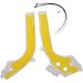 Acerbis X-Grip Frame Guards - KTM - White/Yellow