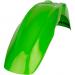 Acerbis Plastic Front Fender - Green - KX65