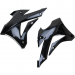 Acerbis Radiator Shrouds - KX 85/100 - Black