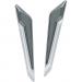 Kuryakyn LED Fork Inserts - Chrome