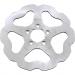 Galfer Braking Wave® Brake Rotor - Rear - Solid Mount
