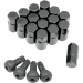 "Moose Racing Lug Nut - 3/8"" - Black - 16 Pack"