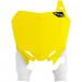 Acerbis Raptor Number Plate - Yellow - Suzuki