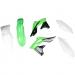 Acerbis Plastic Body Kit - OE '14-'15 White/Green/Black - KX250F