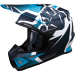 Moose Racing F.I. Agroid Helmet - MIPS - Navy/Light Blue - 2XL