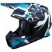Moose Racing F.I. Agroid Helmet - MIPS - Navy/Light Blue - Medium