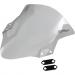 Zero Gravity Corsa Windscreen - Clear - Ninja 400