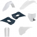 Acerbis Full Replacement Plastic Kit with Lower Airbox Cover - '16 OE White/Black