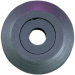 "Parts Unlimited WHEEL,STD. 3.25"" BLACK"