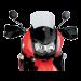 """Moose Racing Windscreen 2"""" Taller - KLR650E 2008+"""