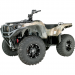 Moose Racing Wheel - 387B - 14X7 - 4/110 - 4+3