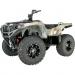 Moose Racing Wheel - 387M - 12X7 - 4/4 - 4+3