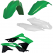 Acerbis Plastic Body Kit - OE '16 Green/White/Black - KX250F