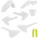 Acerbis Plastic Full Body Kit - OE White/Yellow '20 - TC85