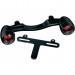 Kuryakyn Bullet Light Rear Turn Signal Bars - Black