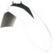 Acerbis Plastic Front Fender - White/Black - SX85
