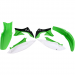 Acerbis Plastic Body Kit - OE '11 Green White/Black - KX450F