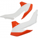 Acerbis Radiator Shrouds - SX 85 - Orange/White