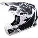 Moose Racing F.I. Agroid Helmet - MIPS - White/Black - Small
