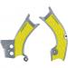 Acerbis X-Grip Frame Guards - RM-Z 450 - Gray/Yellow