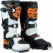 Moose Racing M1.3 MX Boots - Orange/White - Size 8