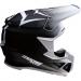 Moose Racing F.I. Agroid Helmet - MIPS - White/Black - Large
