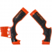 Acerbis X-Grip Frame Guards - SX 65 - Orange/Black