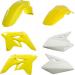 Acerbis Standard Body Kit - '09 OE Yellow/White